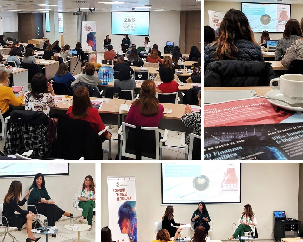Desayuno #MujeresQueTransforman Afi Escuela