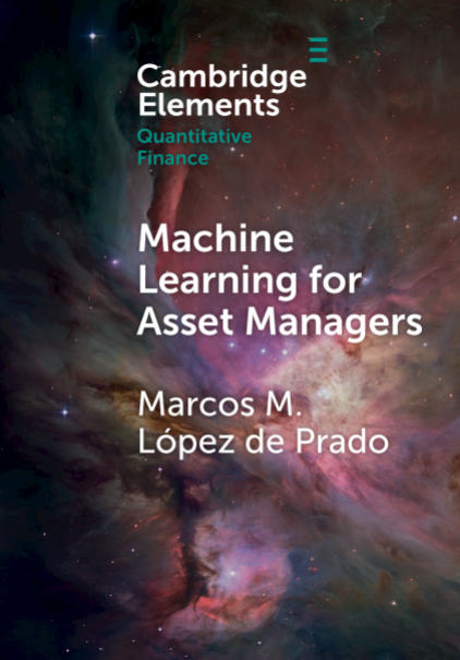 Recomendacion libro economico - Machine Learning for Asset Managers de Marcos M. Lopez Prado