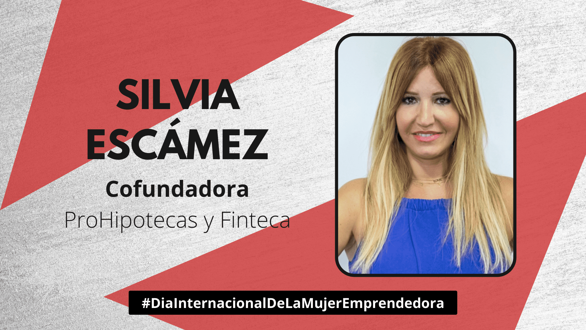 Silvia Escámez - Día de la Mujer Emprendedora
