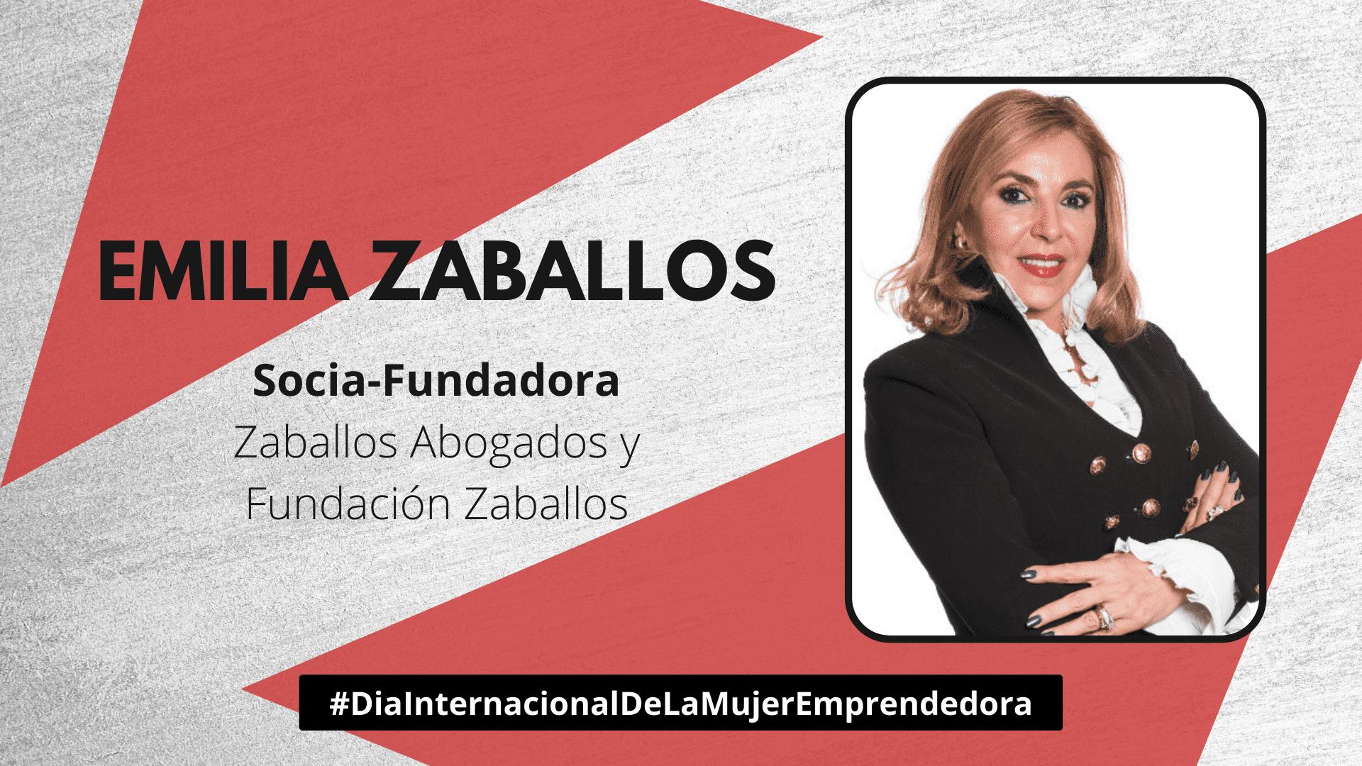 Emilia Zaballos - Día de la Mujer Emprendedora