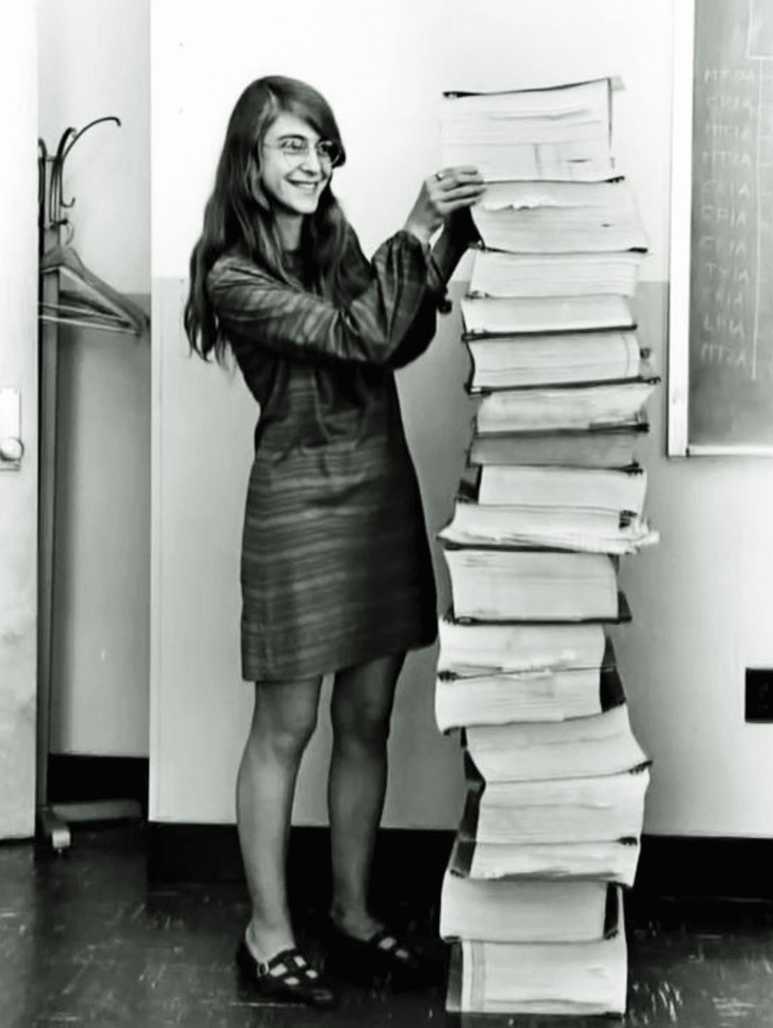 Margaret Hamilton - Mujeres informáticas