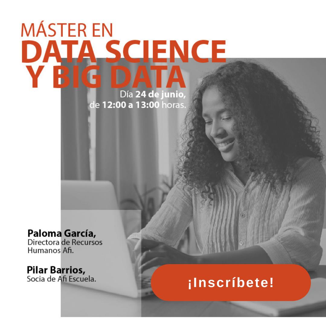 Jornada de Puertas Abiertas - Máster en Data Science y Big Data (MDS)