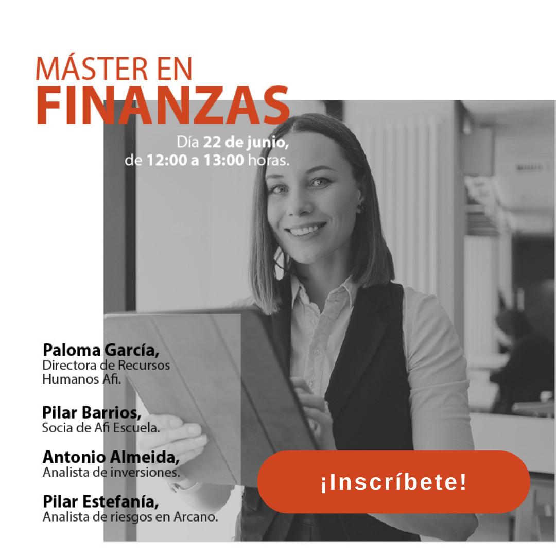 Jornada de Puertas Abiertas - Máster en Finanzas (MF)