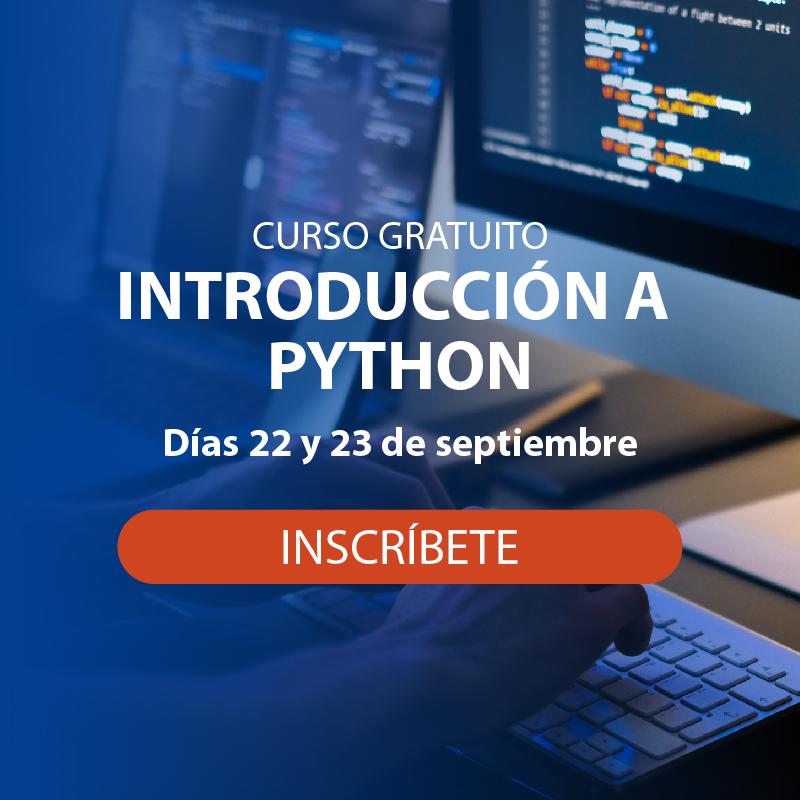 Curso gratuito de Python Afi Escuela